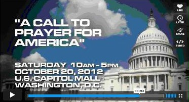 DVD Promo 2012 A Call to Pray for America in DC
