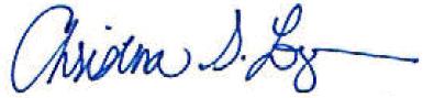 Tina's Signature