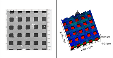 Atomic Force Microscopy Image Processing