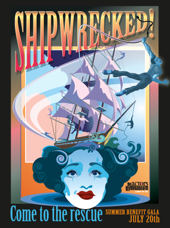 Shipwrecked! Gala Poster