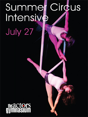 Summer Circus Intensive Showcase Poster