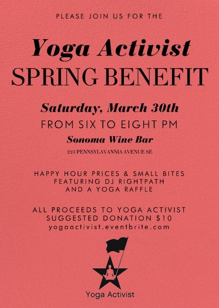 Yoga Activist Spring Benefit