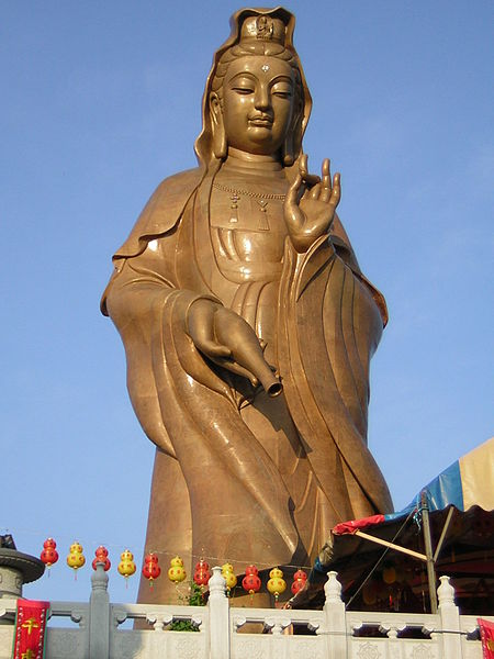 Goddess of compassion statue