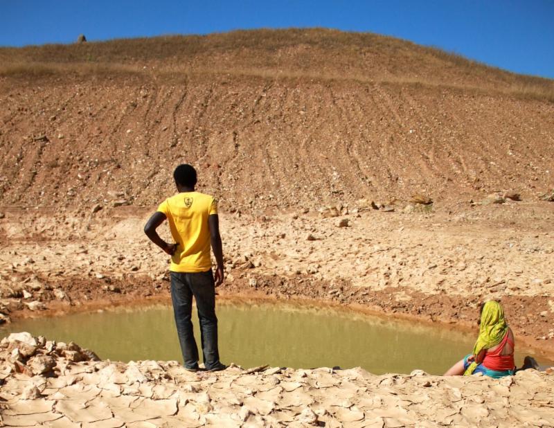 Dry lake Earth Exchange