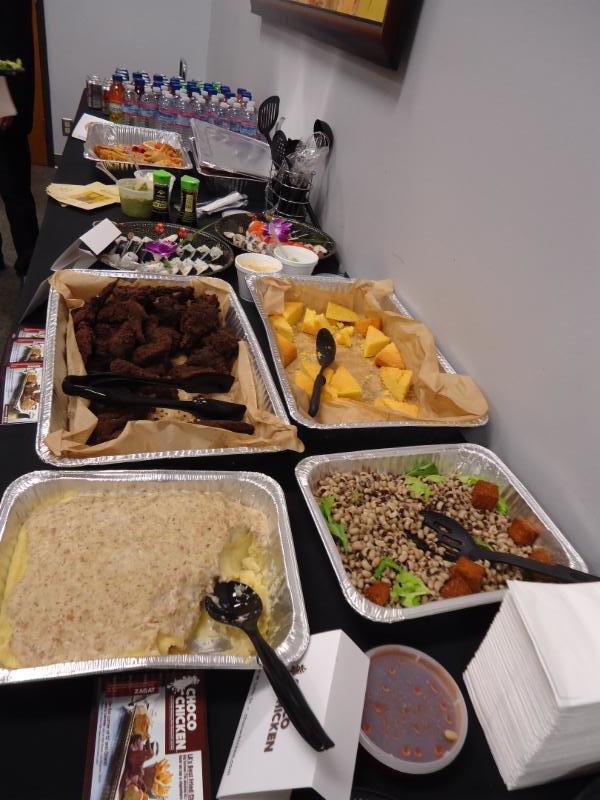Annual Meeting Food 2014