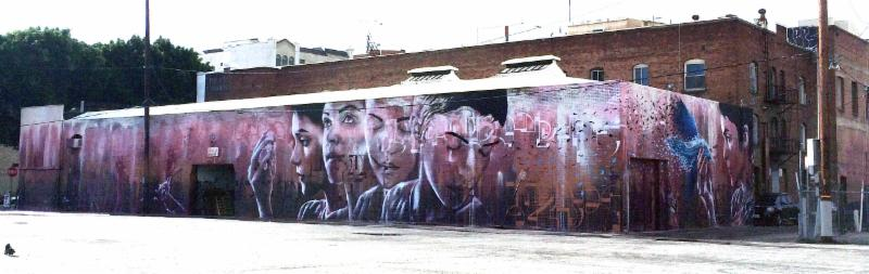 Mural Christina Angelina