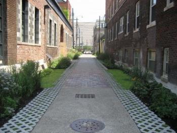 green alley