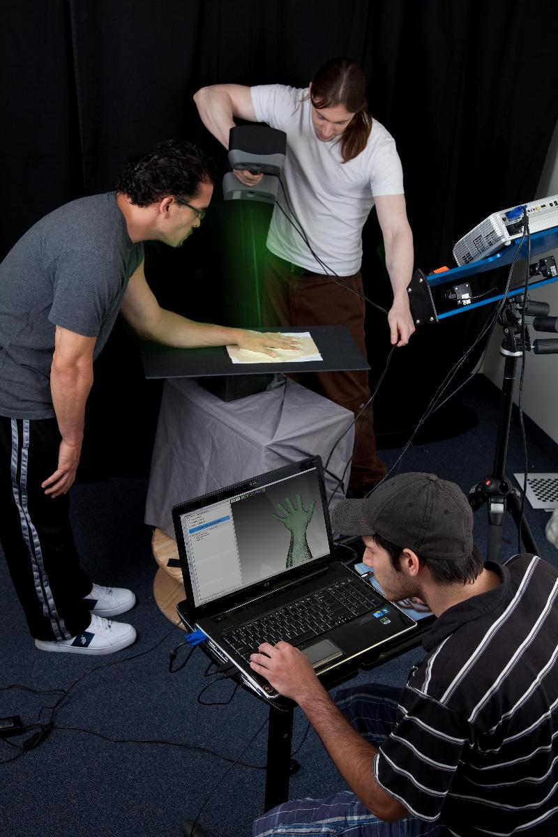 Scanning smaller Objects