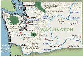WA State Map