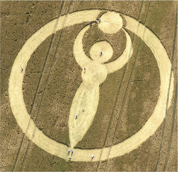 The Goddess And The Crop Circle