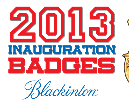 2013 Presidential Inauguration Badge from Blackinton