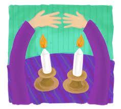 Shabbat Shalom - Candlelighing