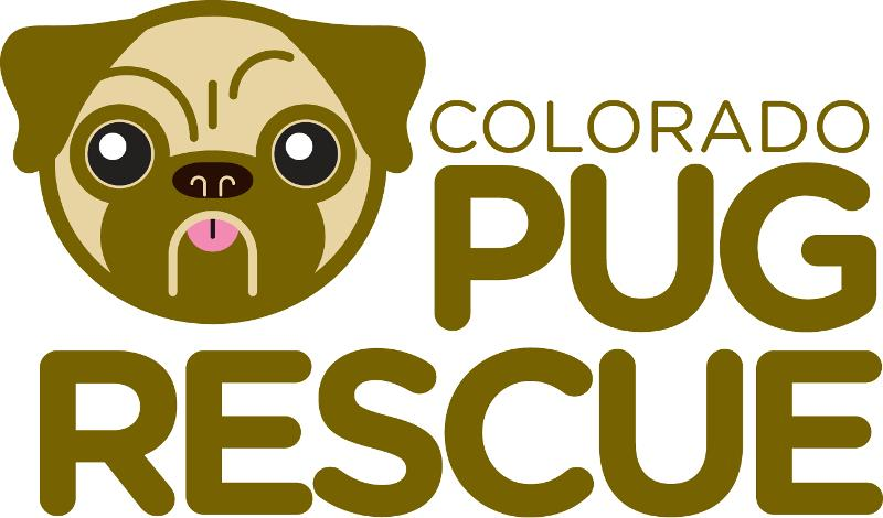 New CO Pug Rescue Logo