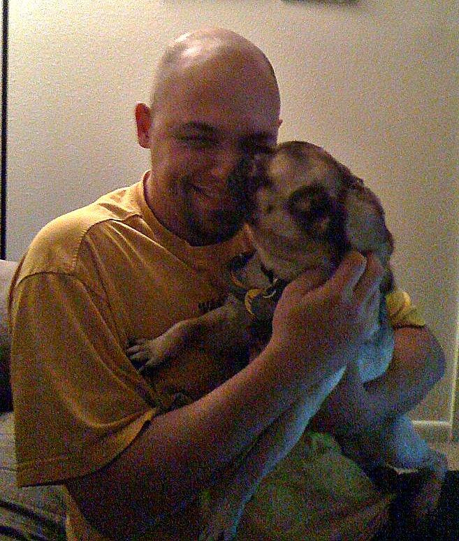 Dillon and Steve for Jan. Happy Endings