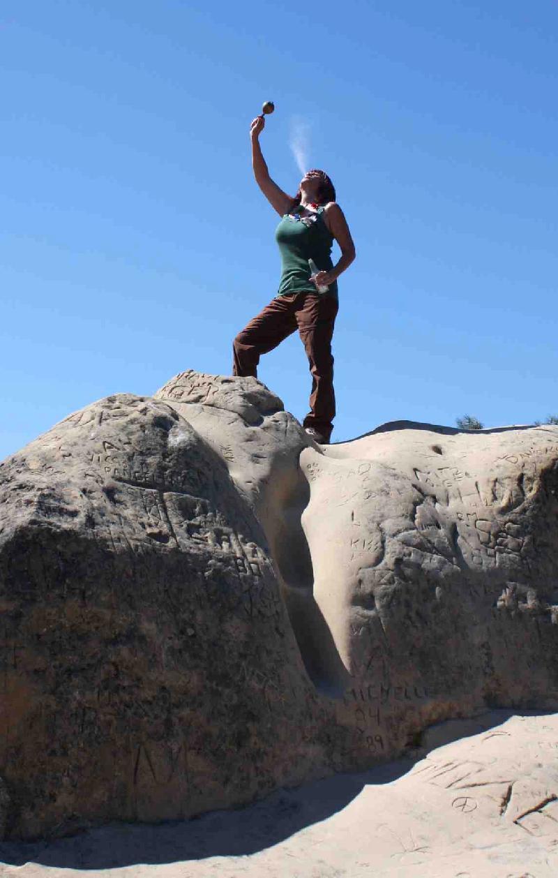 Dani on Mt Diablo