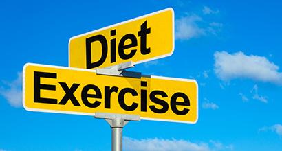 diet & exercise crossroad