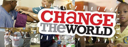 Change the World graphic