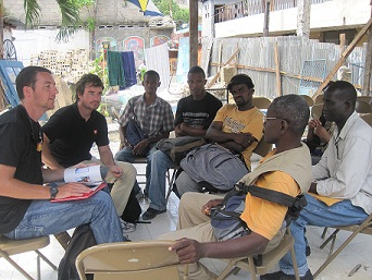 Direct Relief meeting in Haiti