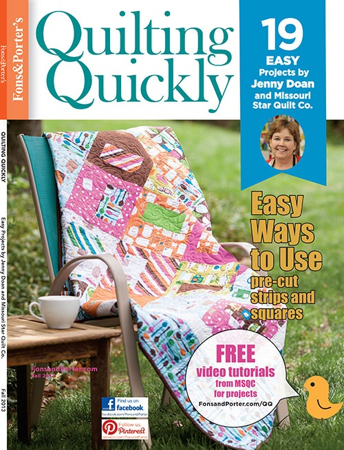 Quilting Quickly Fall 2013