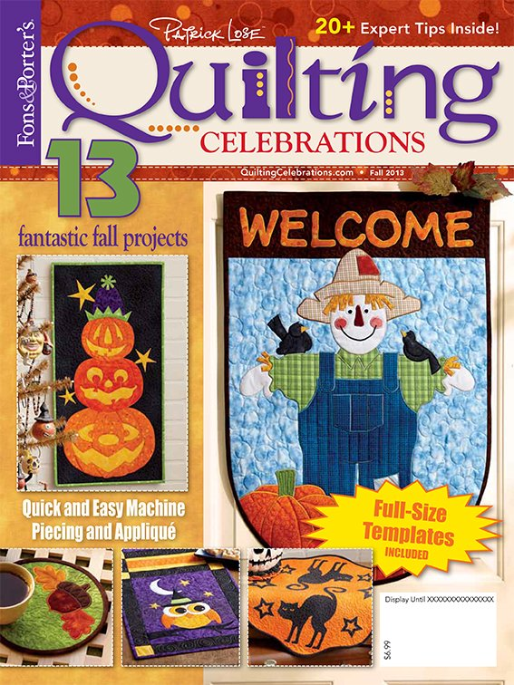 Quilting Celebrations Fall 2013