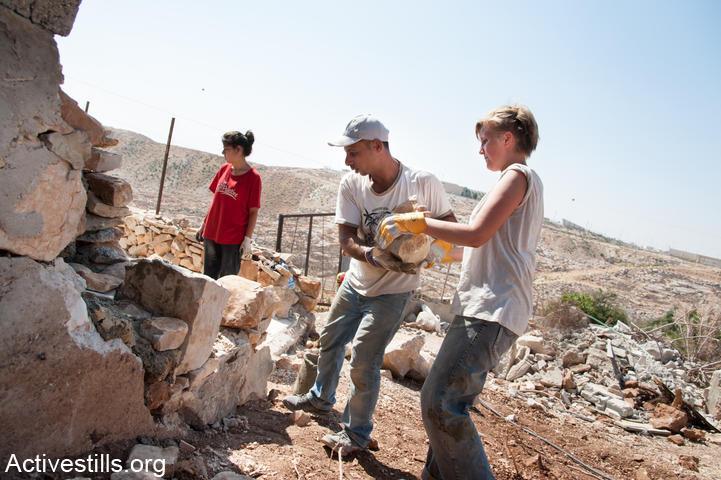 Rebuilding Beit Arabiya, 2012
