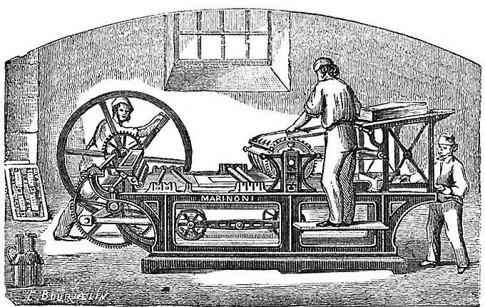 Printing Press Image