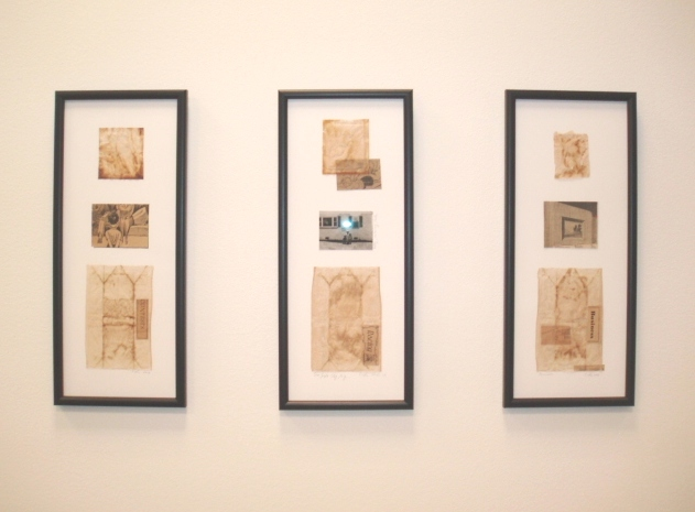 three collages by Elida