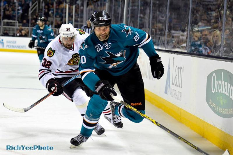San Jose Sharks - Chicago - 1-31-15