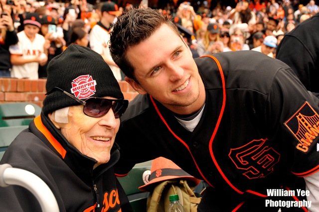Buster Posey - Giants FanFest - 2015