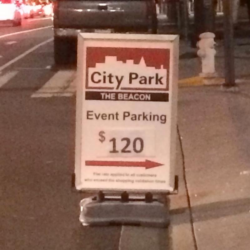 Ira Klein - parking photo