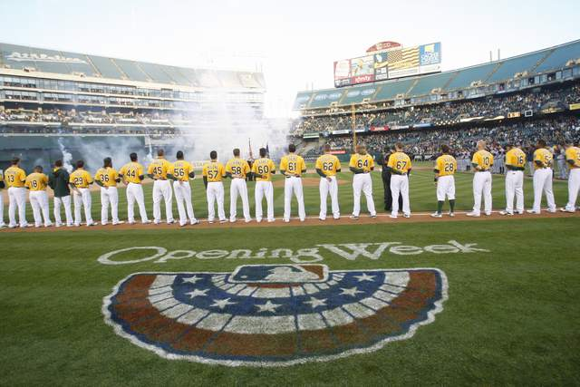 A's Opening Day - 2014