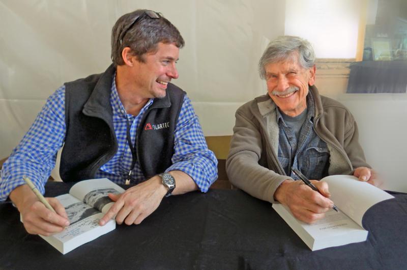 Rudi - book signing - 1-2015