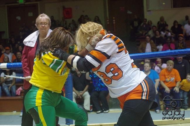 Ed Jay - Bay Bombers - fight