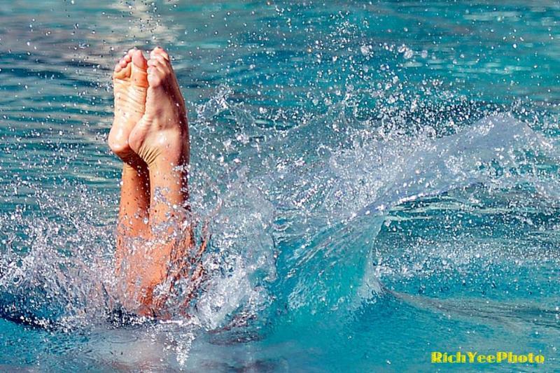 Rich Yee -  Cal women's swim team - 2-2015
