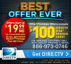 Direct TV ad