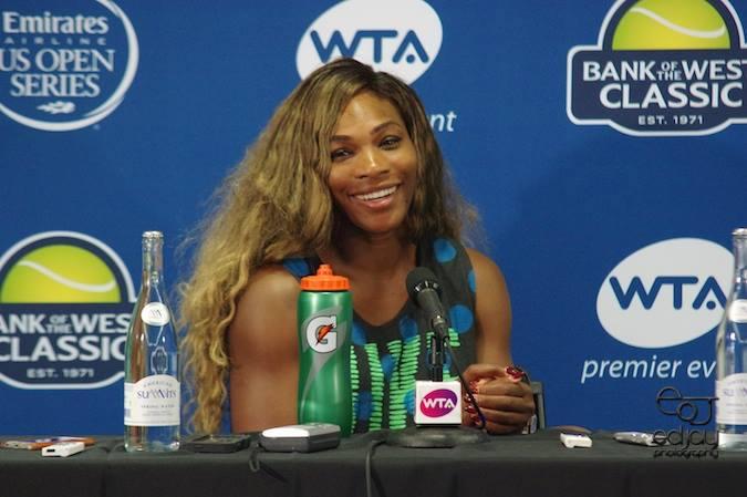 Ed Jay - Serena Williams - 2014
