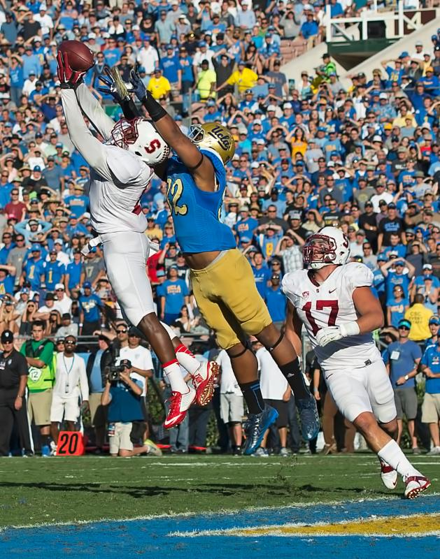 Kenny - Stanford v. UCLA - 2014 - jumping