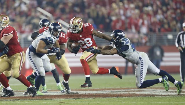 Michael Zagaris - 49rs v. Seattle - Hyde - 2014