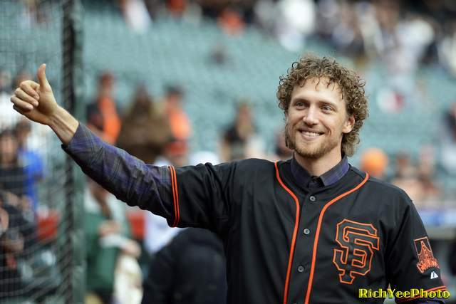 Hunter Pence at 2015 FanFest