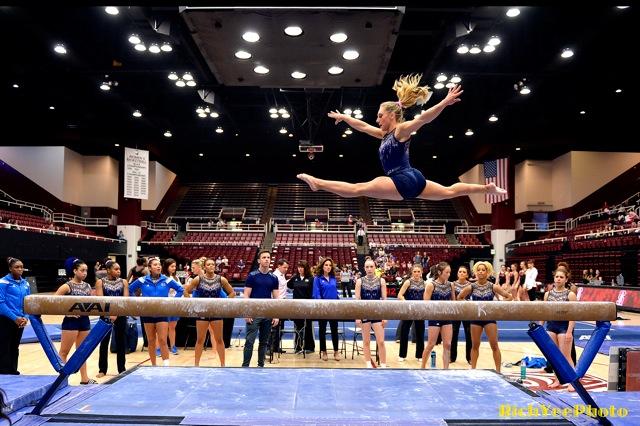 Stanford Women's gymnasts - 2-2015
