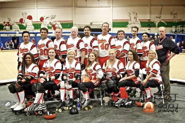 Ed Jay - Roller Derby team