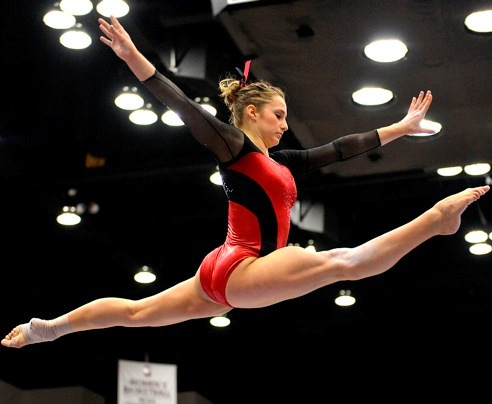 Stanford woman gymnast - 2-2015