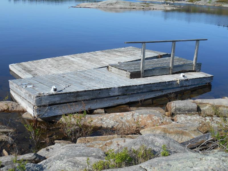 Docks found Chuck