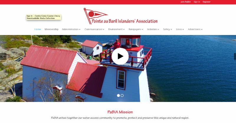 PaBIA Website