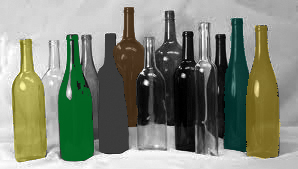 bottles color