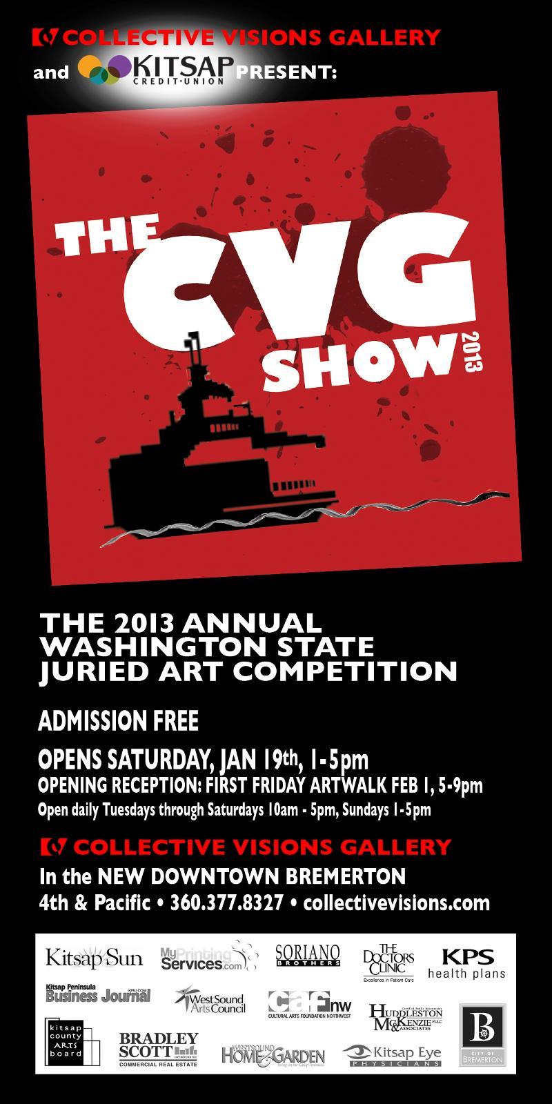 CVG show poster