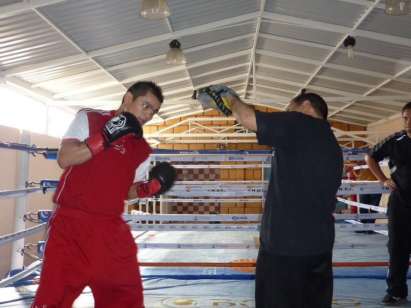 Maidana training