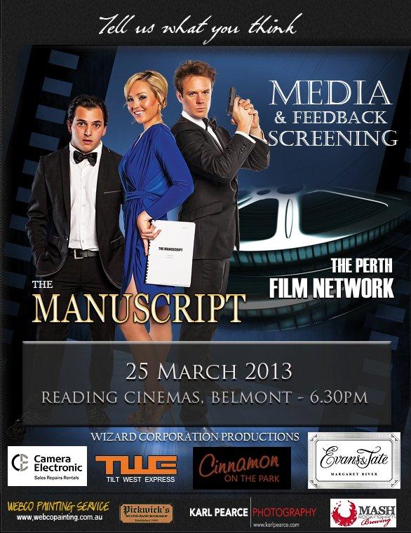 The Manuscript Media and Feedback Screening