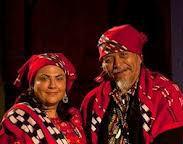 Tata Pedro Cruz and Shuni Giron