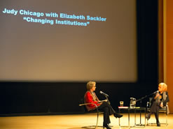 With Elizabeth Sackler in conversation, Changing Institutions